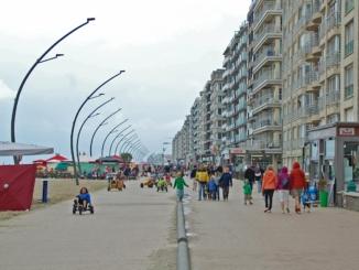 Promenade in De Panne