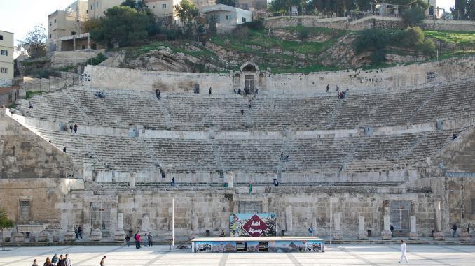 Amphitheater in Amman Jordanien