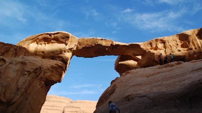 Jabal Umm Fruth Wadi Rum