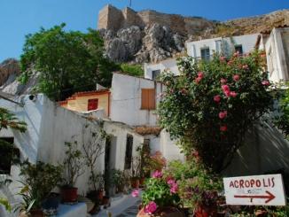 Siedlung Anafiotika in Athen