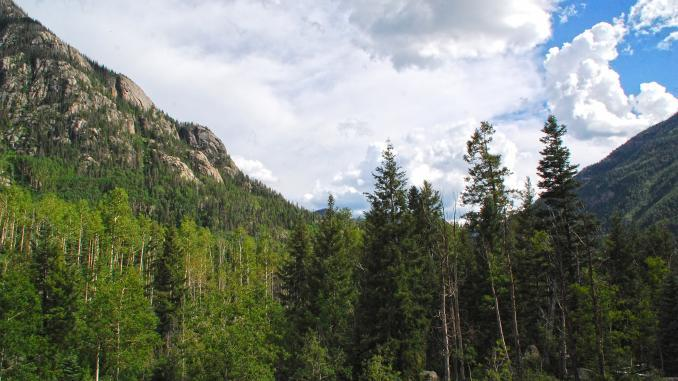 Rocky Mountains Berge