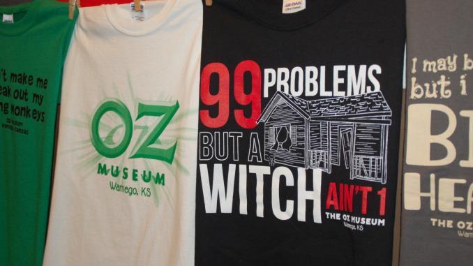 Merchandise im Oz Museum