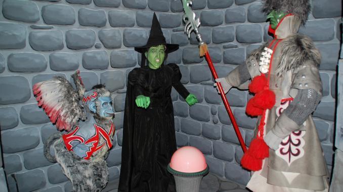 Die bösen Hexe des Westens im Oz Museum
