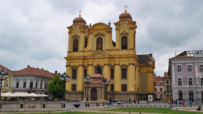 Dom zu Timisoara am Piata Unirii