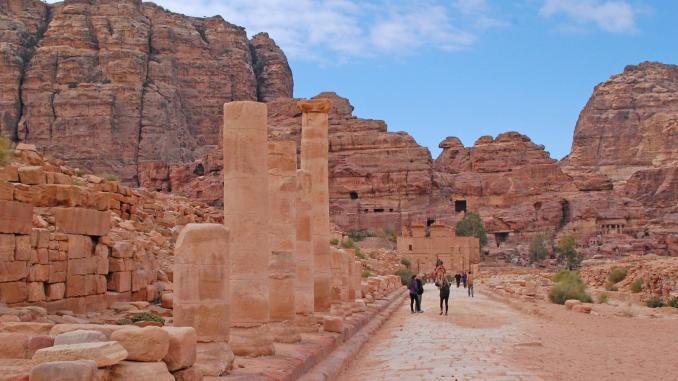 Säulenstraße Petra (Jordanien)