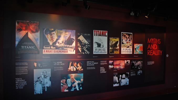 Titanic Museum in Belfast / Mythen und Wahrheiten