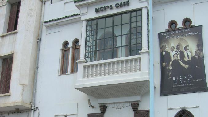 Außenansicht von Rick's Cafe in Casablanca