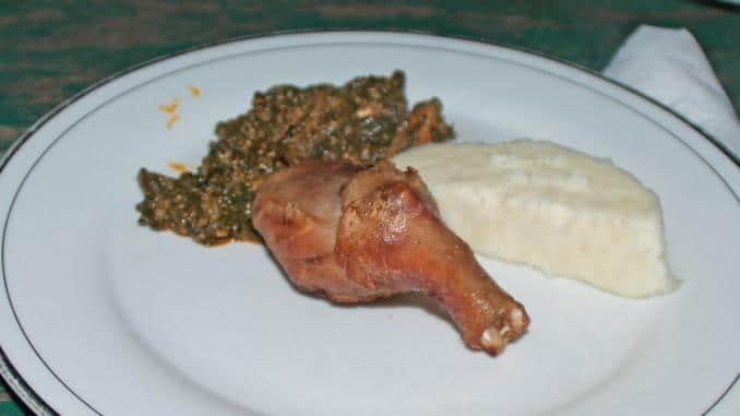 Essen in Ghana