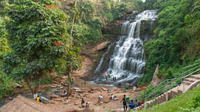 Kintampo Wasserfall Ghana