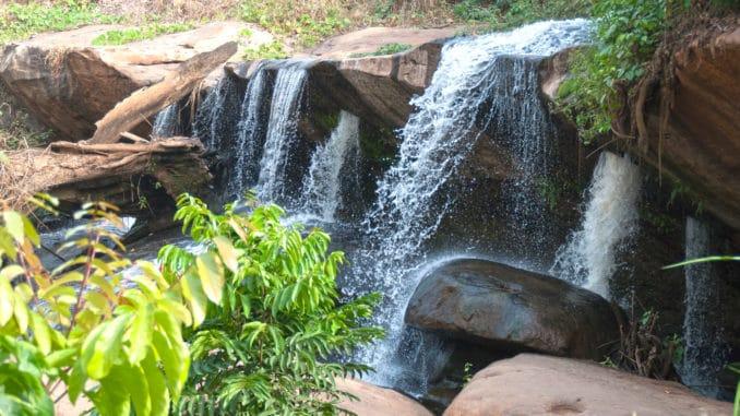 Stufe 1 des Kintampo Wasserfalls