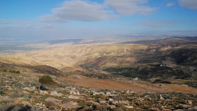 Aussicht vom Berg Nebo
