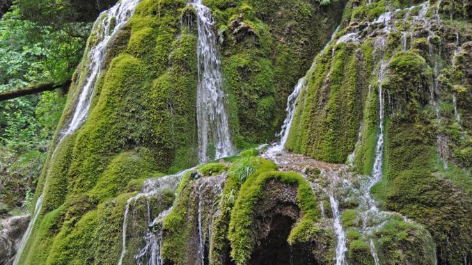 Bigar-Wasserfall Rumänien