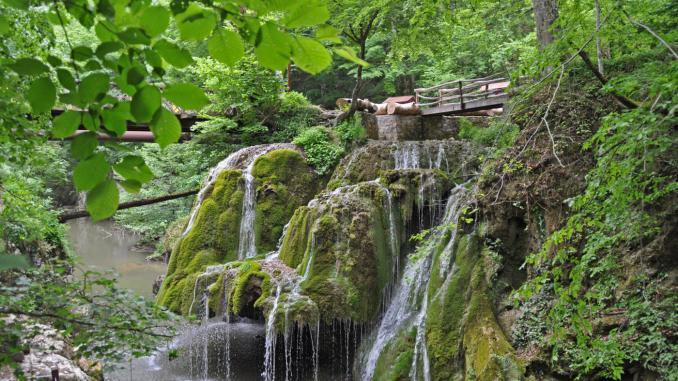Wasserfall Bigar in Rumänien