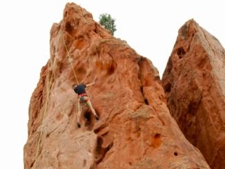 Klettern im