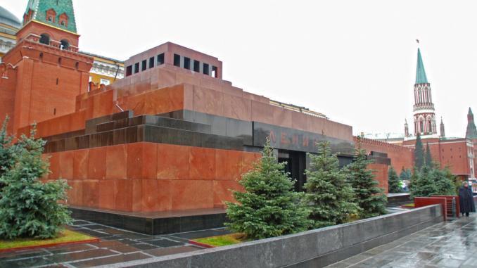 Lenin Mausoleum in Moskau / Roter Platz