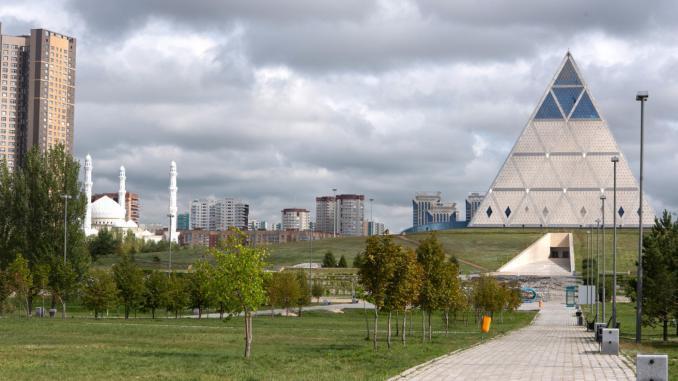 Pyramide des Friedens und der Eintracht Astana