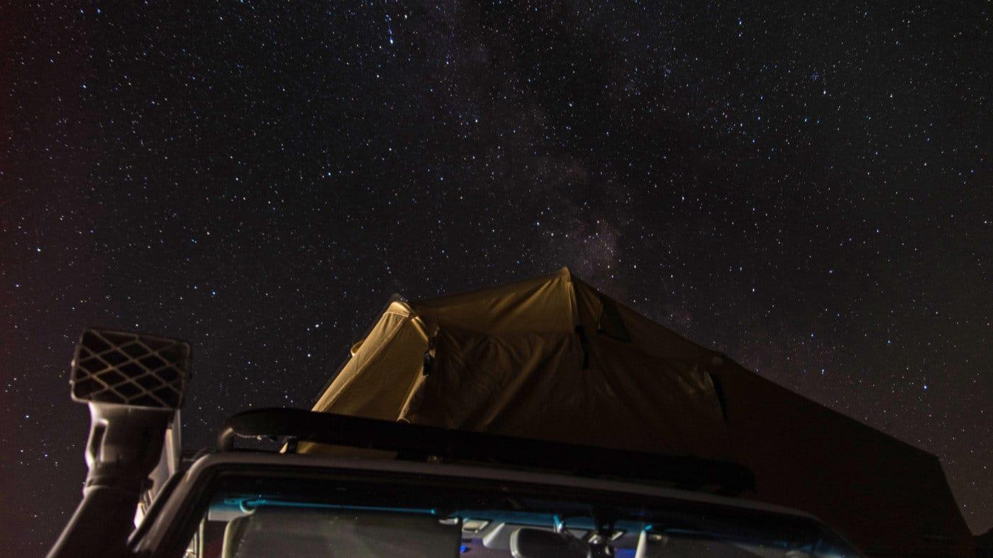 Unter dem Sternenhimmel in Mangystau