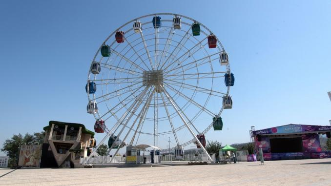 Riesenrad Kök-Tobe