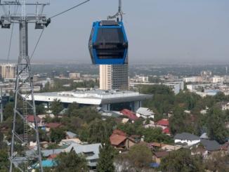 Seilbahn Kök-Töbe in Almaty
