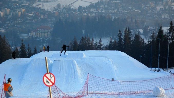 Zakopane Ski fahren