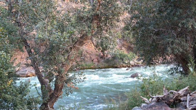 Charyn Fluss Kasachstan