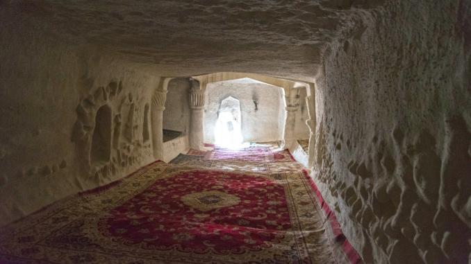 Unterirdische Moscheen in Kasachstan