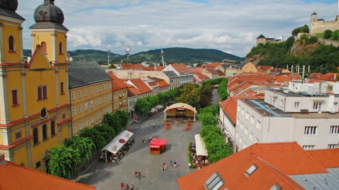 Blick vom Stadtturm