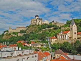 Trencin in der Slowakei