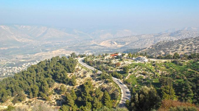 Foto-Panorama Jordanien