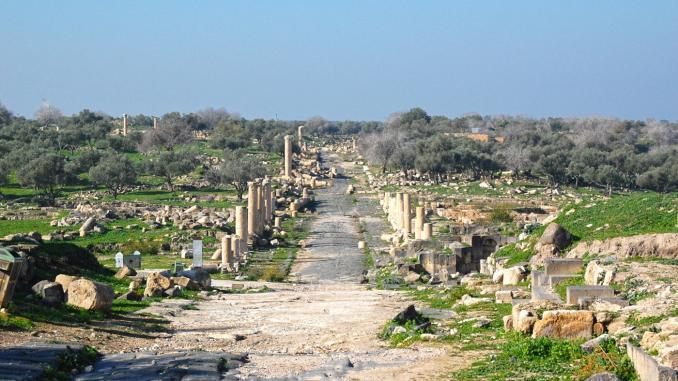 Säulengang Umm-er-Rasas