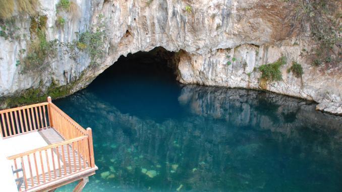 Buna-Quelle in Blagaj / Bosnien