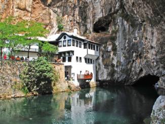 Derwischkloster in Blagaj
