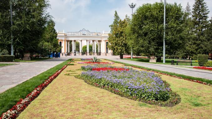 Zentralpark (Gorky Park) Almaty