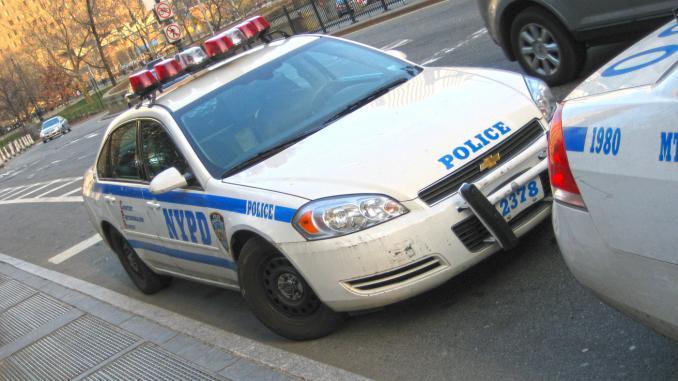 Polizeiauto NYPD