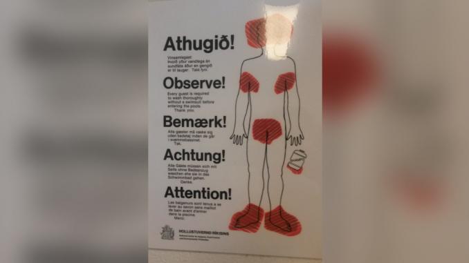 Hygienregeln Island