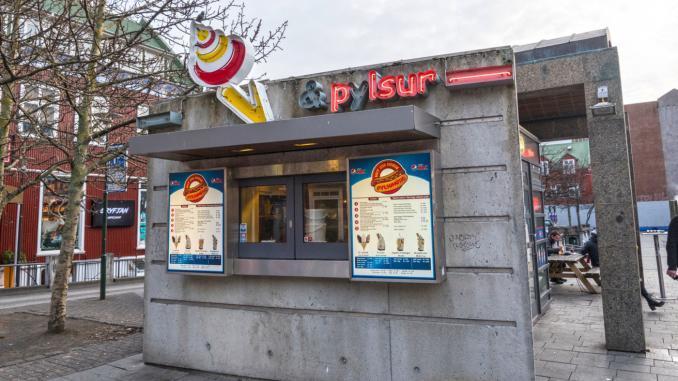Imbissbude in Reykjavik