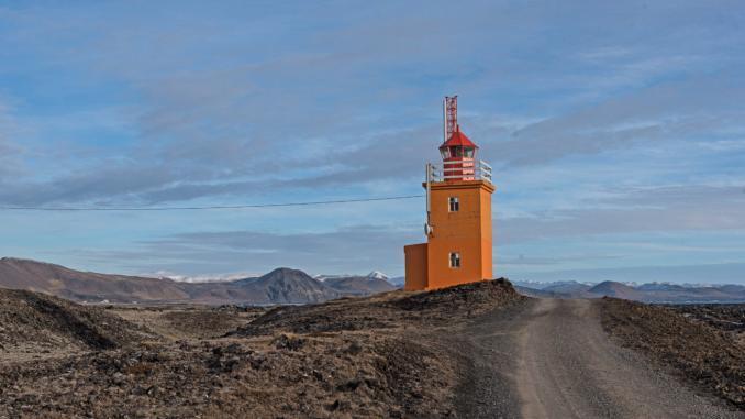 Reykjanes Hópsnesviti Leuchtturm