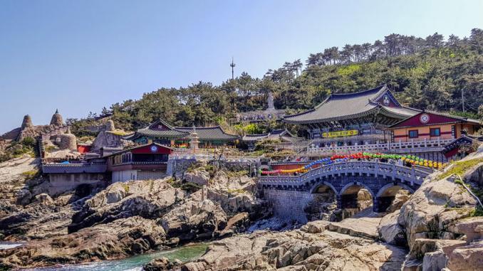 Haedong-Yonggung-Tempel - Südkorea