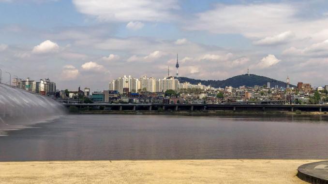Hanfluss Seoul - Südkorea