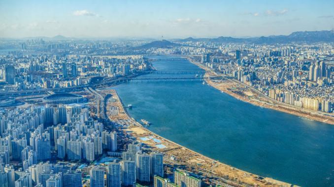 Seoul - Blick vom Lotte-World-Tower - Südekorea