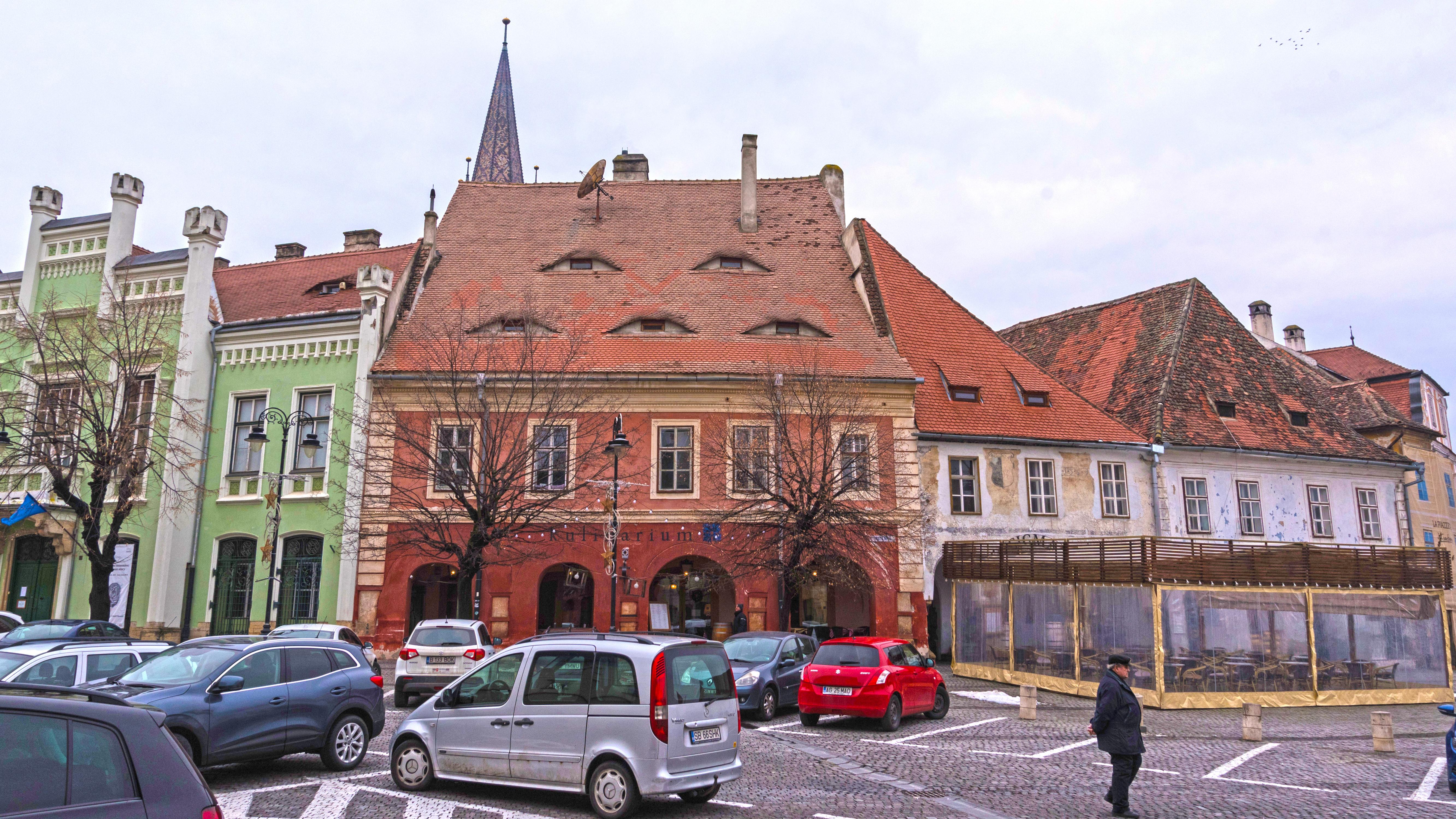 Sibiu in Rumänien