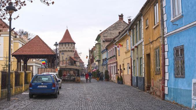 Stadtmauer Sibiu