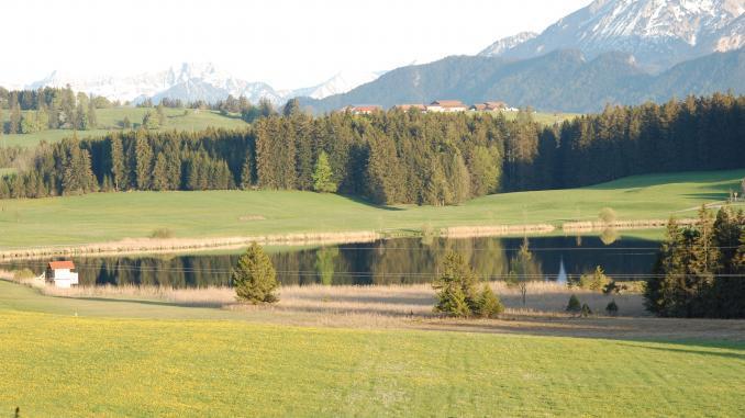 Seen im Ostallgäu: Attlesee