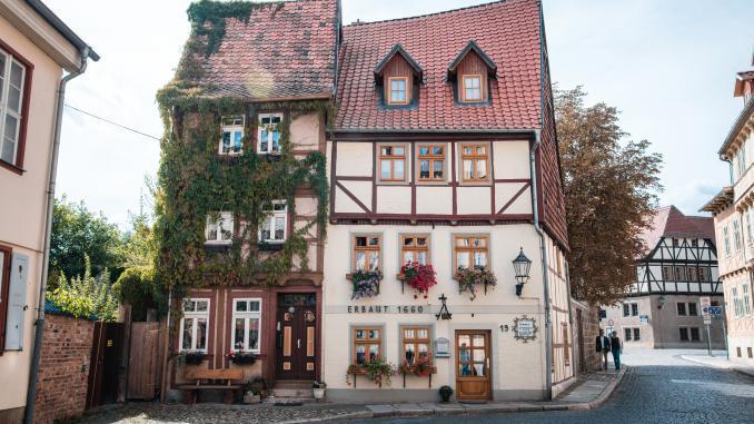 Quedlinburg Fachwerkhäuser Altstadt