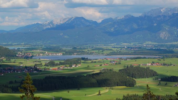 Seen im Ostallgäu