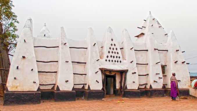 Moschee in Larabanga / Ghana