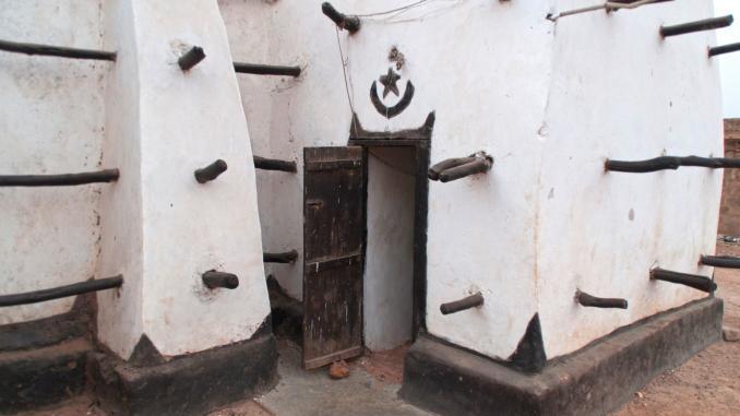 Eingang für Muezzin