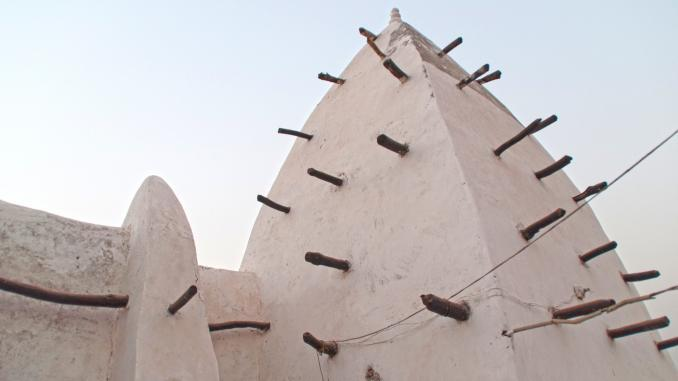 Minarett Moschee Larabanga