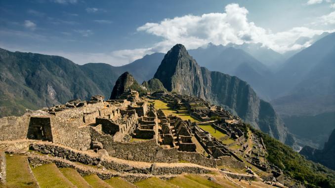 Panoramas von Machu Piccu Onlinetour