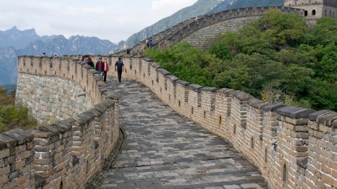 Chineische Mauer / Onlinetour